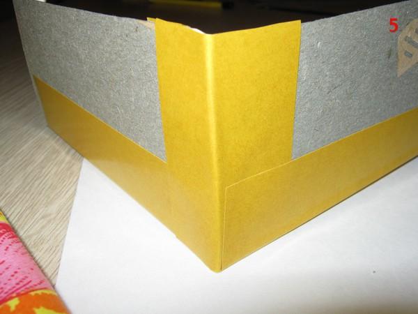 Шкатулка в стиле картонаж