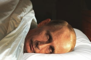 Путин спит