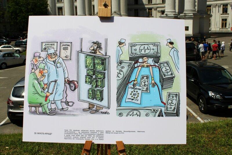В Украине низкий уровень медицинского обслуживания