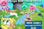 Приключения Спанч Боба и Патрика игра для двоих