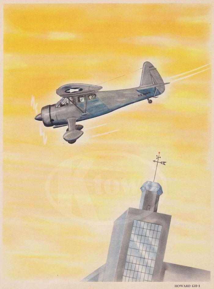 Howard CH-1 - легкий транспортный самолет