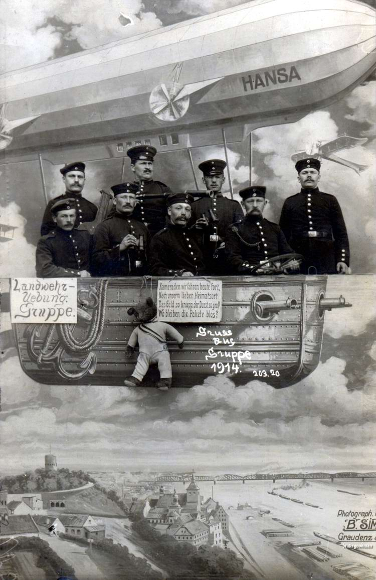 Художественные фоны для фотографий авиационной и воздухоплавательной тематики (19)
