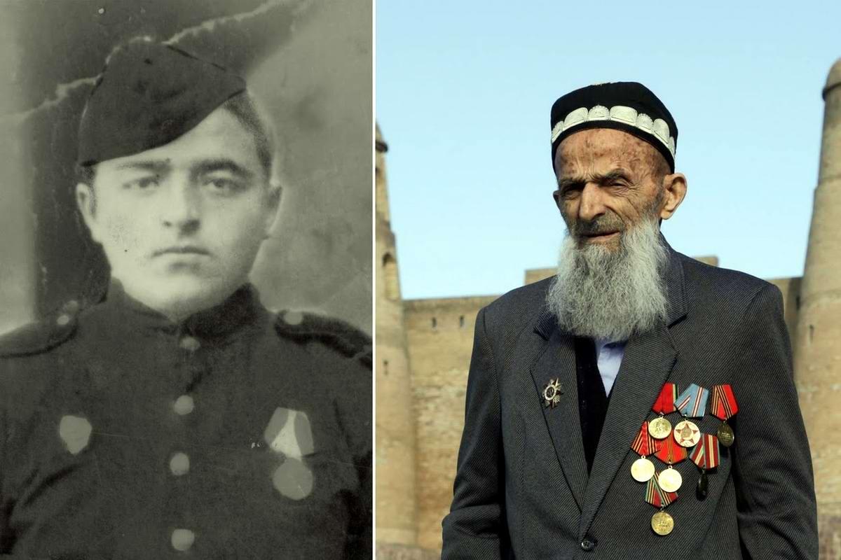 15 героев Великой Отечественной Войны из 15 республик Советского Союза - Жолик Ходжаев, уроженец Таджикистана, 91 год