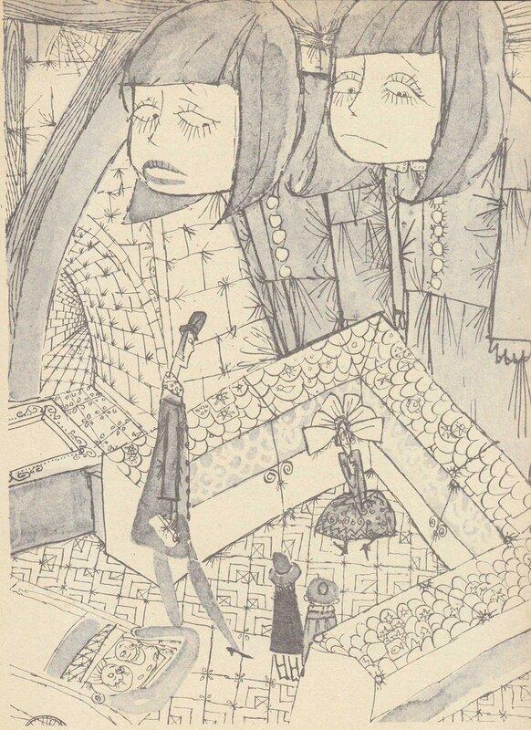 Иллюстрация из книги «Мэри Поппинс»