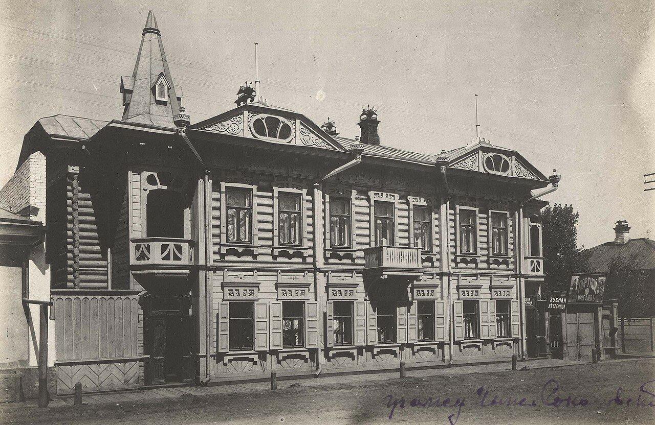 Жилой дом по Театральному переулку. 1906