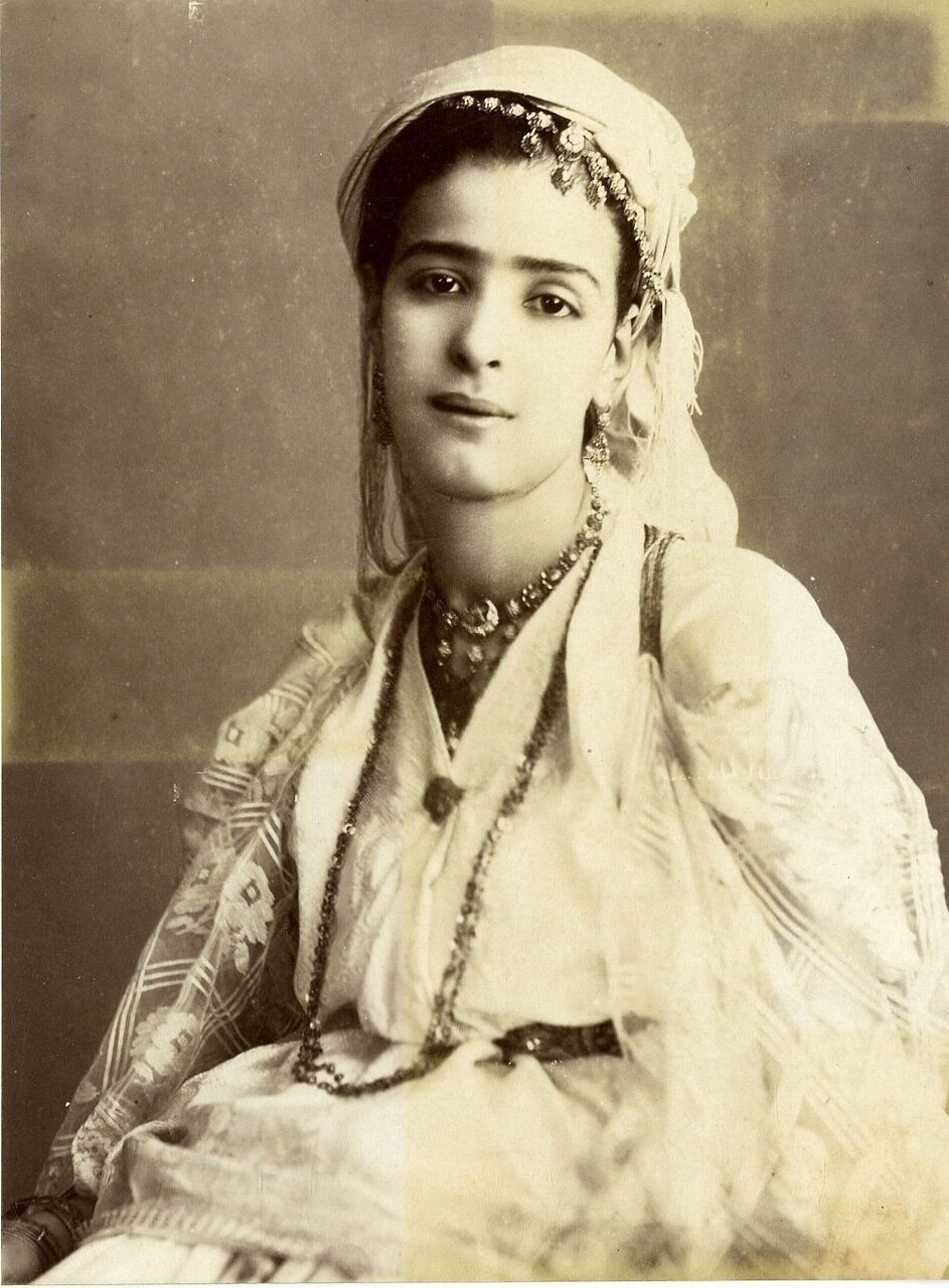1902. Молодая мавританка