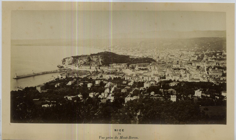 1875. Вид с горы Мон Борон