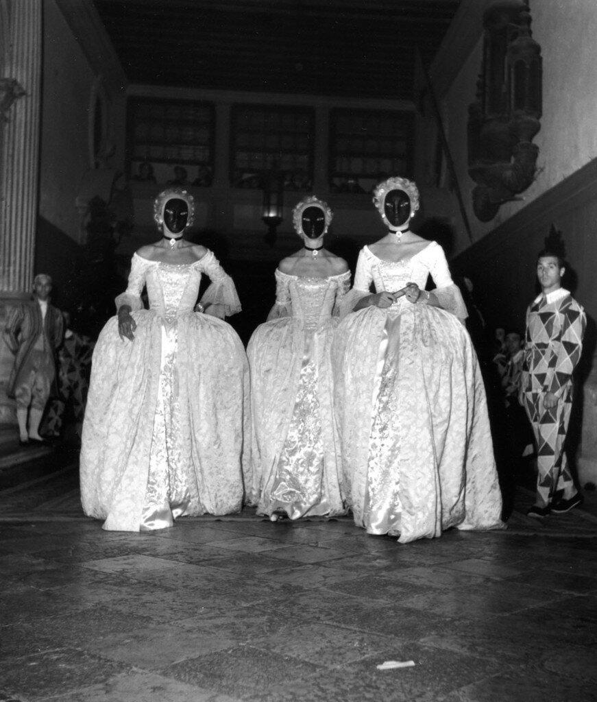 1951. Показ мод в Венеции