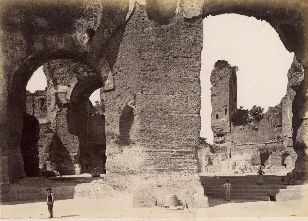 Термы Каракаллы. 1870
