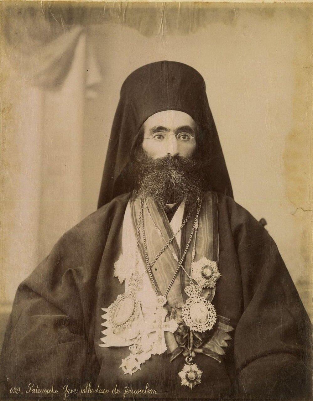 Греческий священнослужитель в Иерусалиме