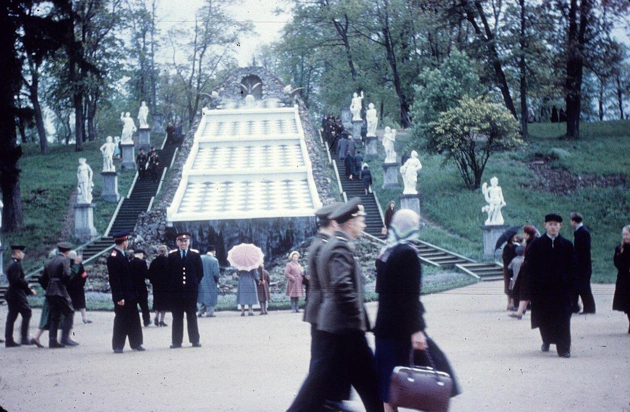 20. Шахматная гора Каскад на территории Петергофа