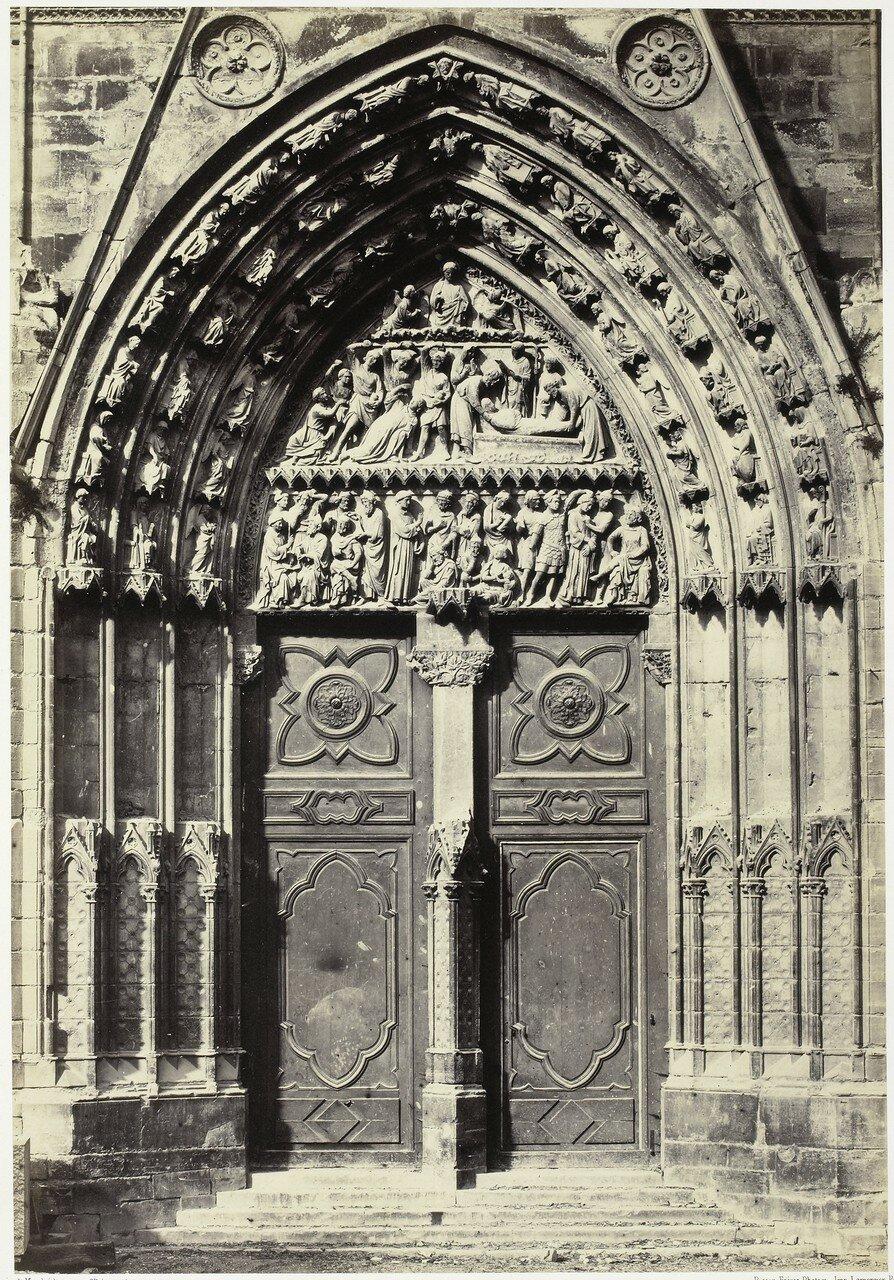 14. Портал Сент-Этьен на южной стороне собора