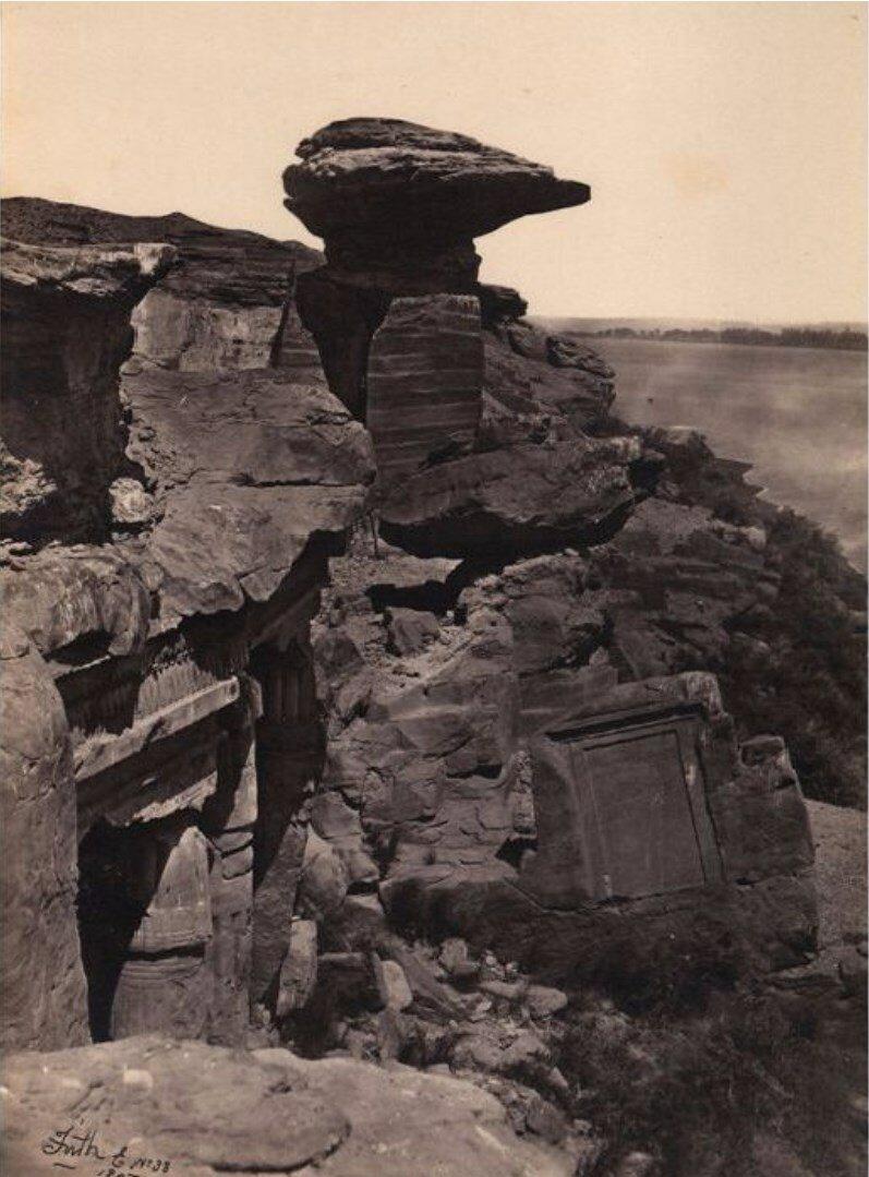 Древние каменоломни. Нубия, 1857