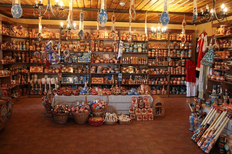 Суздаль - магазин сувениров