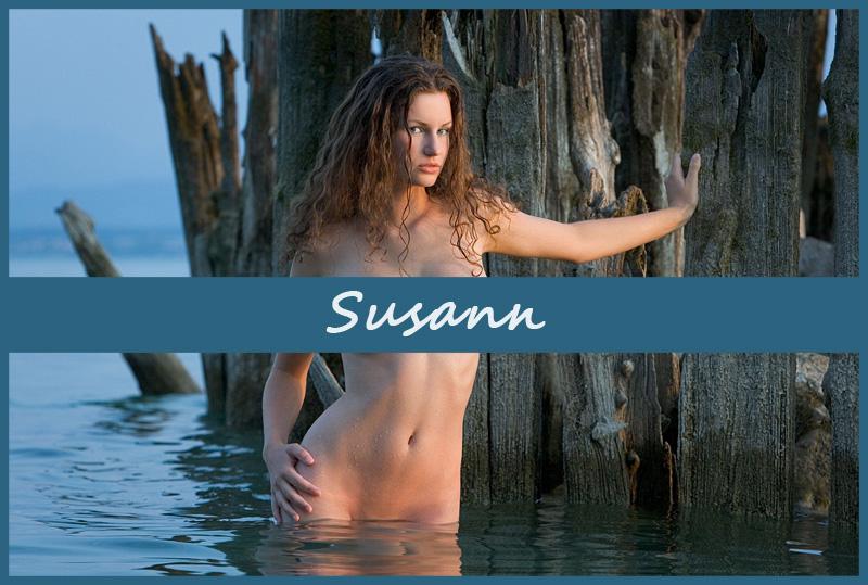 Пышногрудая немецкая модель Susann