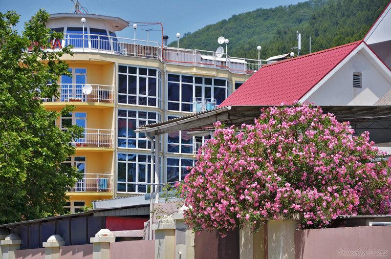 Лазаревское, курортный городок Сочи