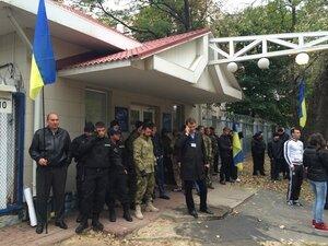В Киеве захвачено здание Концерна радиовещания и телевидения