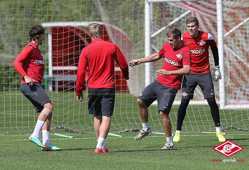 «Спартак» приступил к тренировкам в Тарасовке (Фото)