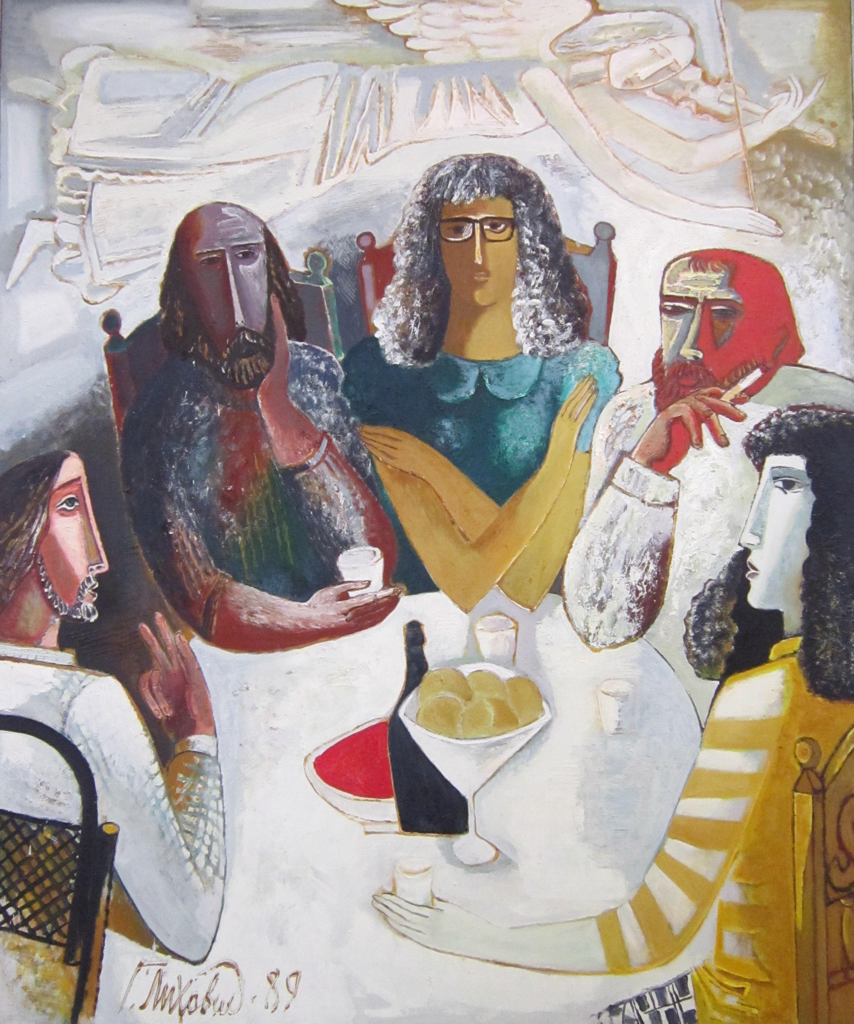 Георгий Иванович Лиховид (род. в 1048 году). Спор об искусстве. 1989 год.