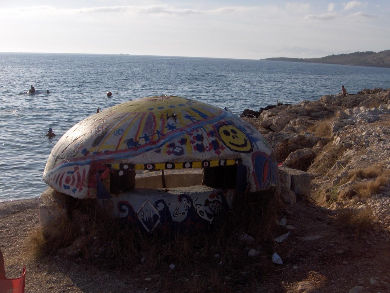 Албания  страна бетонных бункеров  По следам моих следов