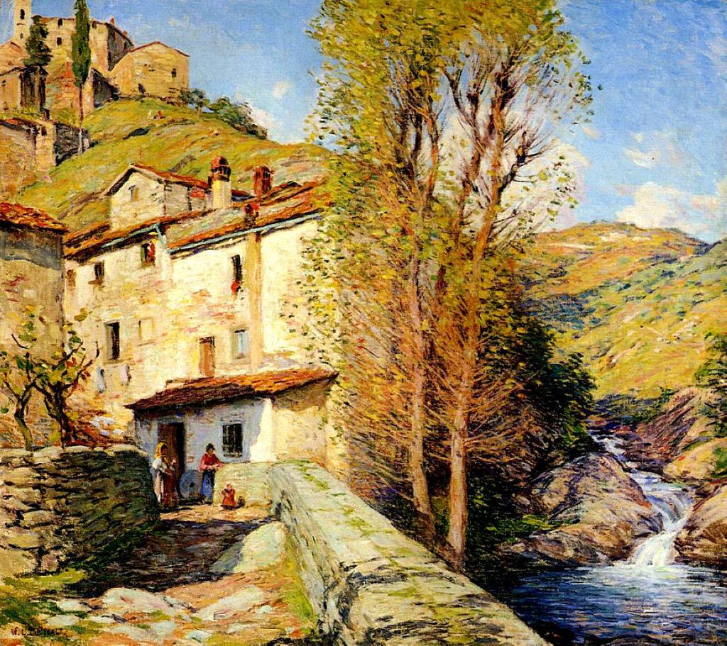 Old Mill, Pelago, Italy, 1913.jpeg