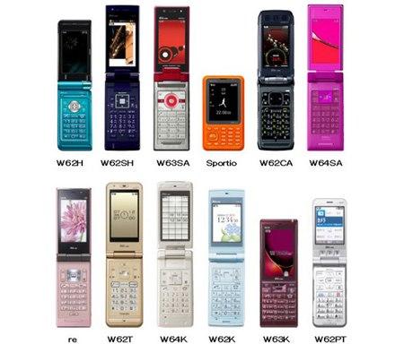 Особенности телефонов из Японии