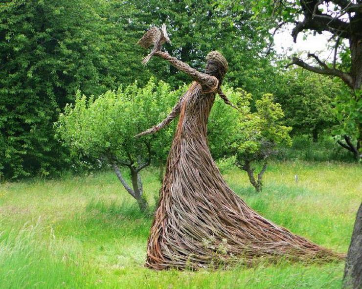 Ива плетение