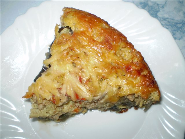 Запеканка из баклажанов и картофеля рецепт