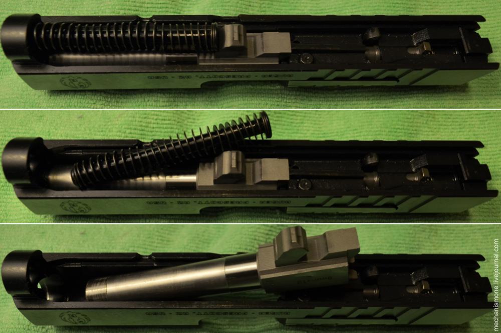 Как устроен пистолет Ругер СР9