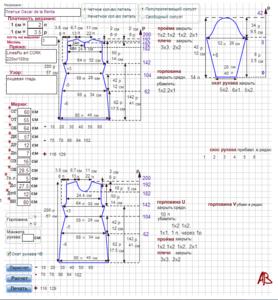таблицы выкройкирасчеты записи в рубрике таблицы выкройки