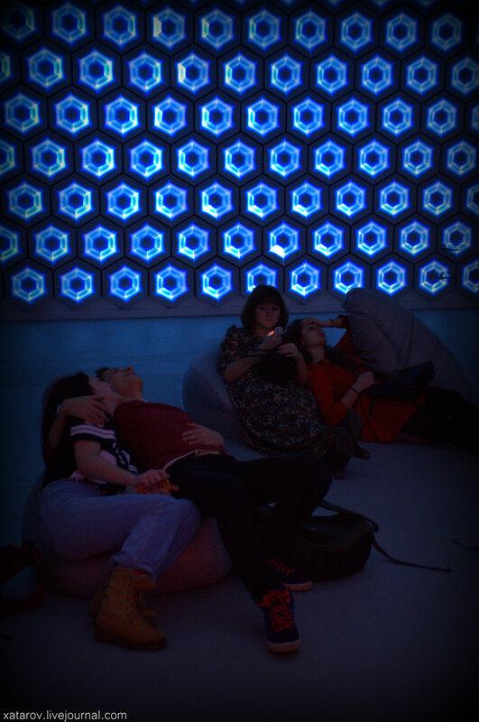 Life Zone. Интерактивное перерождение. Центр современного искусства MARS