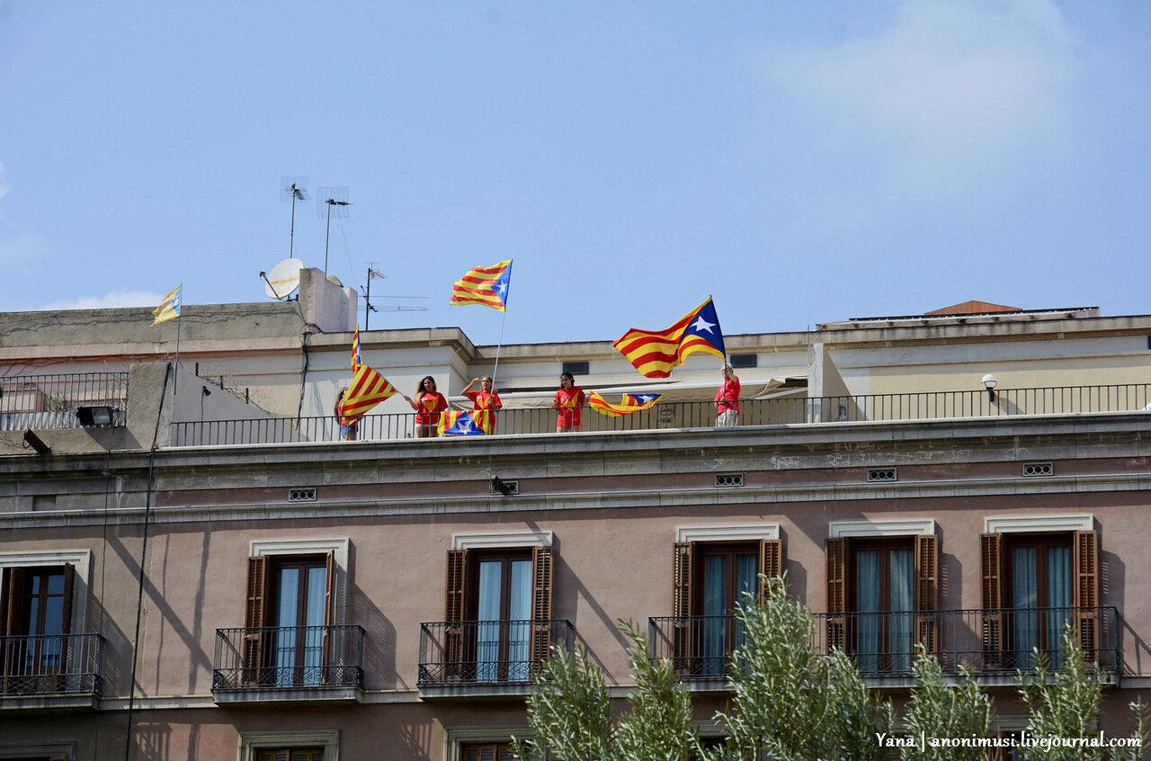 Каталония за независимость от Испании