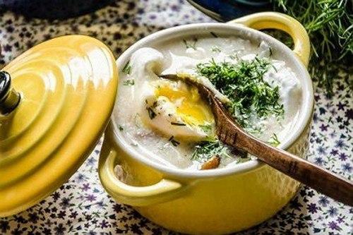 грибной чешский суп