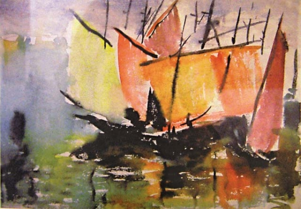 Цветные паруса. 1930-е.