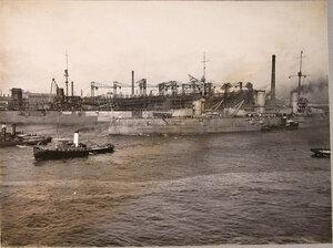 Линейный корабль «Севастополь» направляется в Кронштадт
