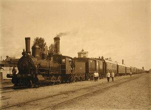 Общий вид поезда №8.