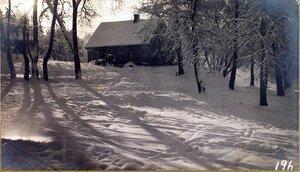 Вид дома, где размещалась 3-я Искровая рота штаба XII армии.