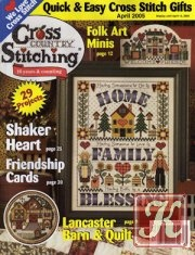 Журнал Cross Country Stitching №4 2005