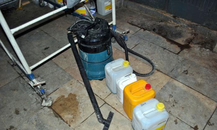Фотоотчет о работе специалистов в области чистоты
