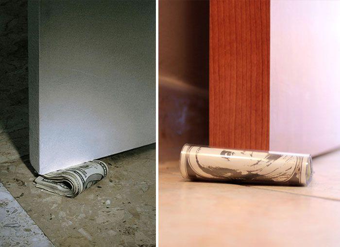 Креативные стопперы для двери