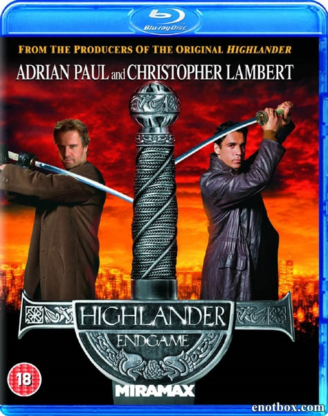 Горец 4: Конец игры / Highlander: Endgame [Producer's Cut] (2000/HDRip)