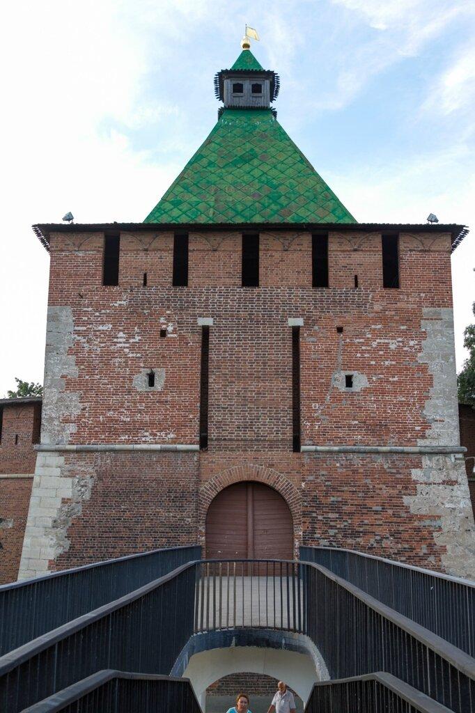 Никольская башня нижегородского кремля