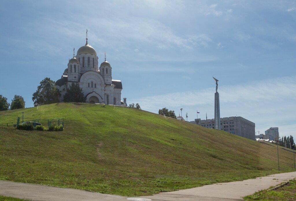 Храм Великомученика Георгия Победоносца и Монумент Славы, Самара