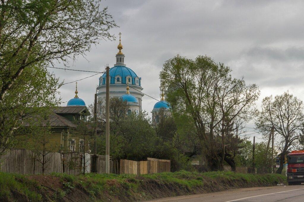 Церковь Сошествия Святого Духа в Новом, Переславский район