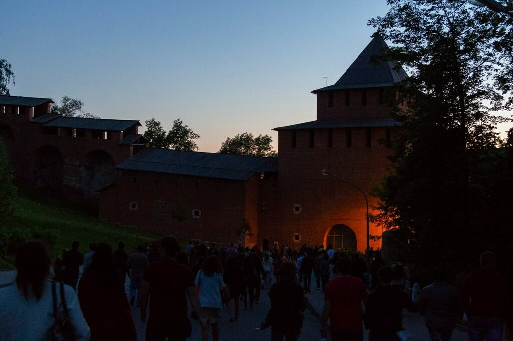 Спуск к Ивановской башне, Нижегородский кремль