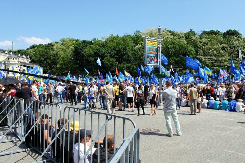 Европейская площадь 18 мая 2013 года