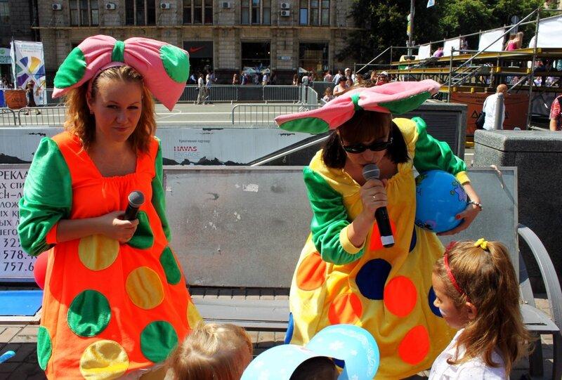 Конкурс для детей на фестивале мороженого