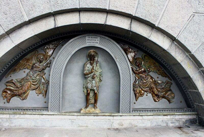 Иоанн Предтеча и Ангелы