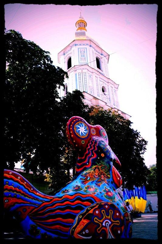 Арт-объект на Софиевской площади