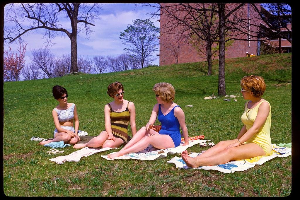 Sunbathers, 1964.